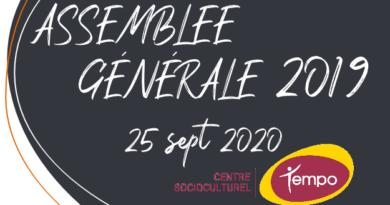 RAPPORT ASSEMBLÉE GÉNÉRAL 2019