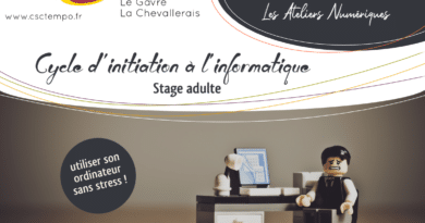 Les ateliers d'initiation informatique