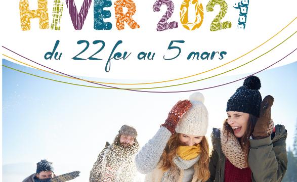 Programme des Vacances d'Hiver 2021